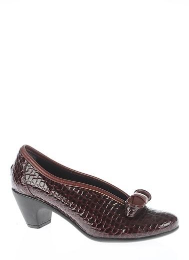 Bambi Loafer Ayakkabı Bordo